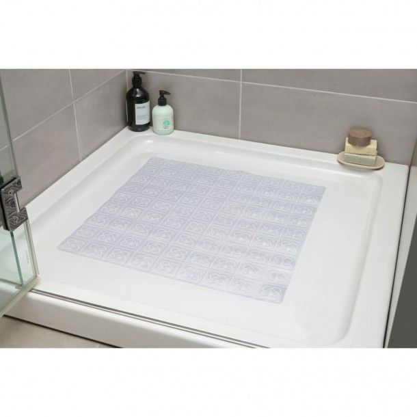 Tapete Antiderrapante Transparente 54x54cm
