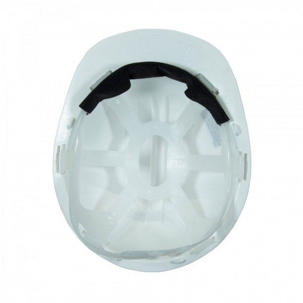 Capacete Proteção 5R Branco Homologado