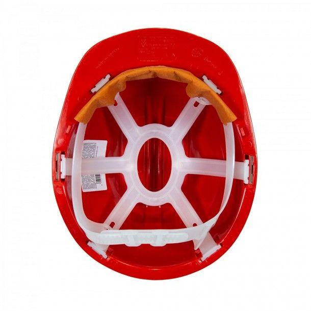 Capacete Proteção 5R Vermelho Homologado