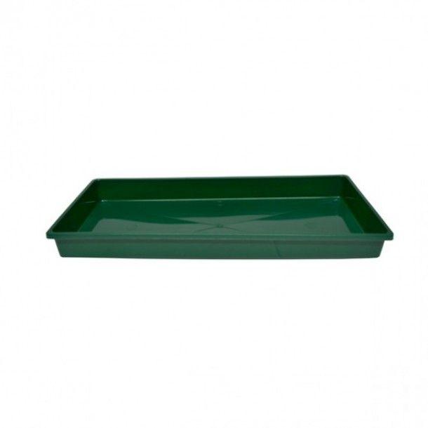 Prato Floreira Retangular Verde - 38 cm