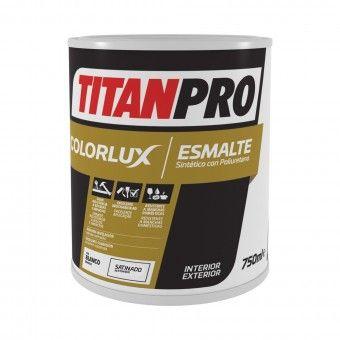 Esmalte Sintético Acetinado Branco - Titan Pro