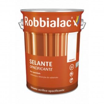 Selante Aquoso Opacificante Branco 1L - Robbialac