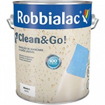 Tinta Mate Clean & Go Branco 750ml - Robbialac