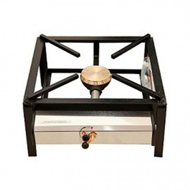 Trempe Simples Um Queimador 100 - 40x40 cm