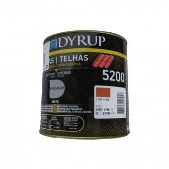 Tinta Telhas Tradicional 750ml - Dyrup