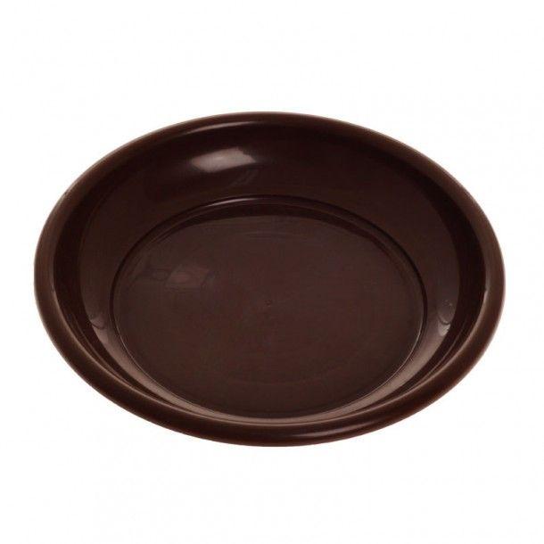 Prato para Vaso de Jardim Chocolate 25 cm