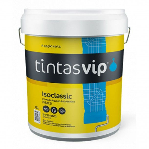 Primário Fixador Isoclassic Branco 5L - Vip