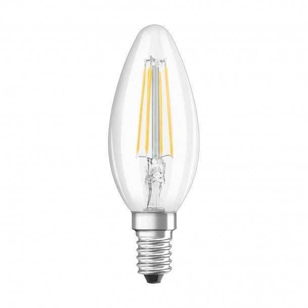 Lâmpada LED Filamento Osram Vidro Classic B40 6500K
