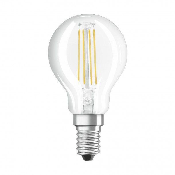 Lâmpada LED Filamento Osram Vidro Classic P40 2700K