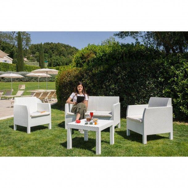 Conjunto Jardim Mesa e Cadeiras 4 Lugares - Toomax