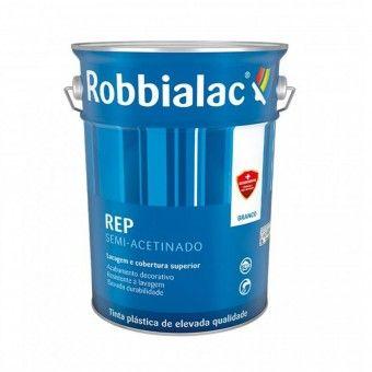 Tinta Rep Semi-Acetinado Branco - 1L Robbialac