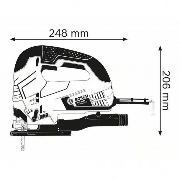Serra Tico-Tico GST 90 BE Bosch