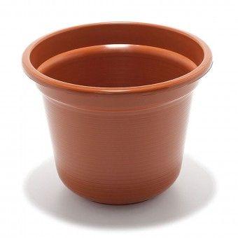 Vaso de Jardim Castanho 25 cm