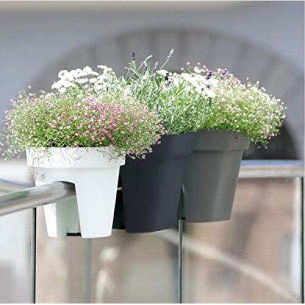 Vaso para Varanda Lofly Bridge Verde - 25 cm