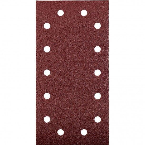 Lixa Retangular Abrasiva com Velcro 115x230 - G40 Kwb