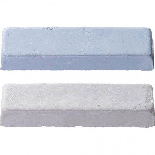 Conjunto 2 Pastas de Polir Metal Kwb