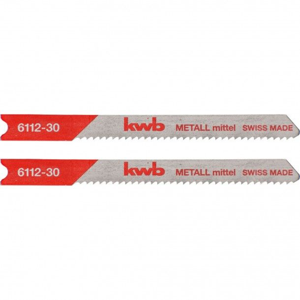 Lâmina Serra Tico-Tico (U) Metal Médio 50x75 mm Kwb