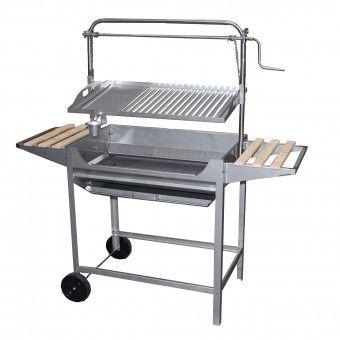 Barbecue Troia a Carvão em Inox