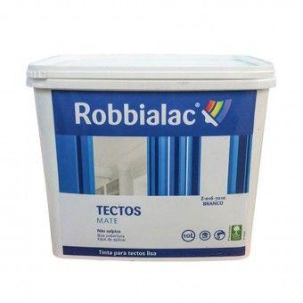 Tinta Tetos Mate Branca- 10L Robbialac