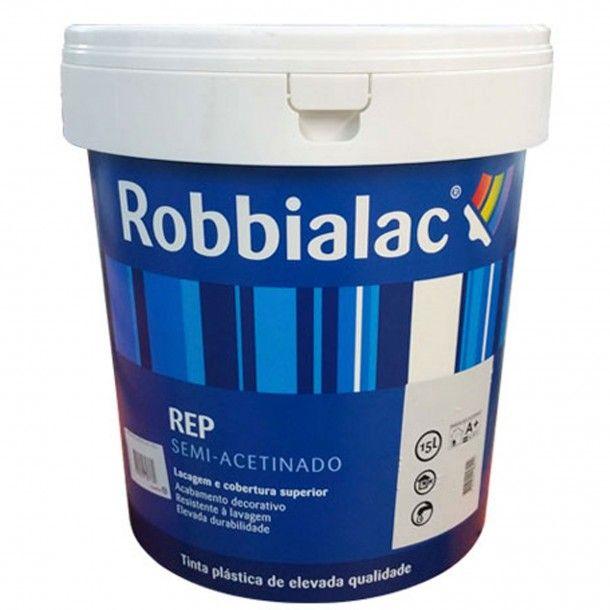 Tinta Rep Branco 15L - Robbialac