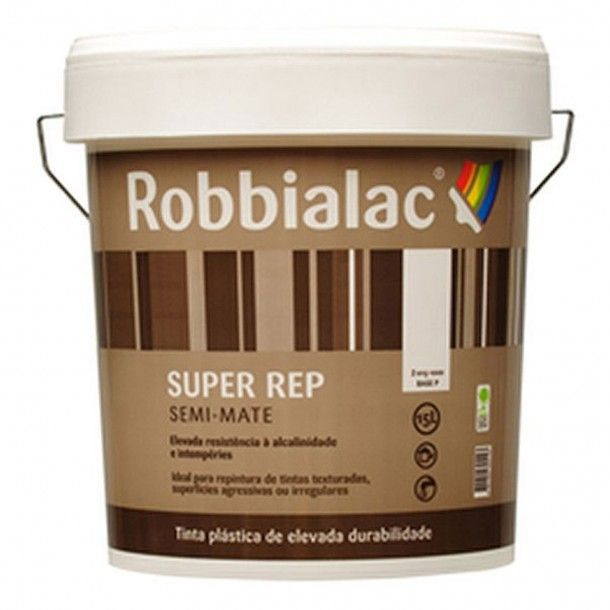 Tinta Súper Rep Branco 015/0001 15L - Robbialac