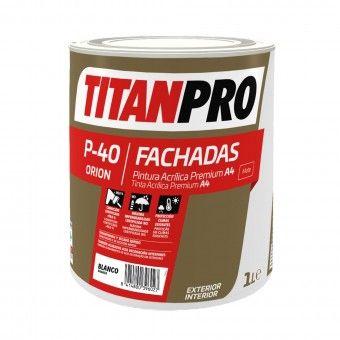 Tinta Acrílica P40 Branco Mate - Titan Pro