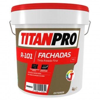 Tinta Areada Fina R101 Branco Mate - Titan Pro