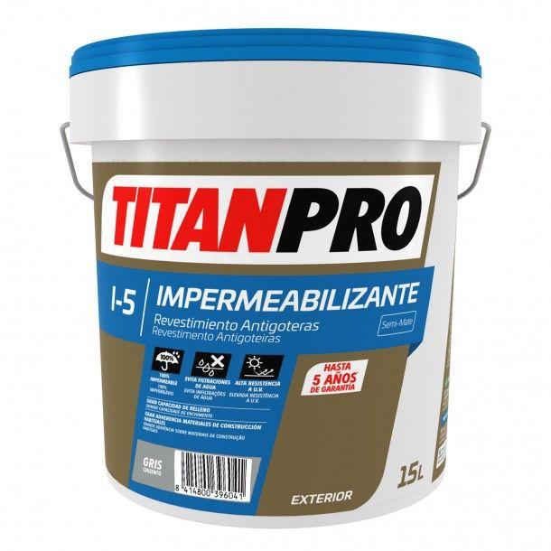 Revestimento Impermeável I5 Cinza 15L - Titan