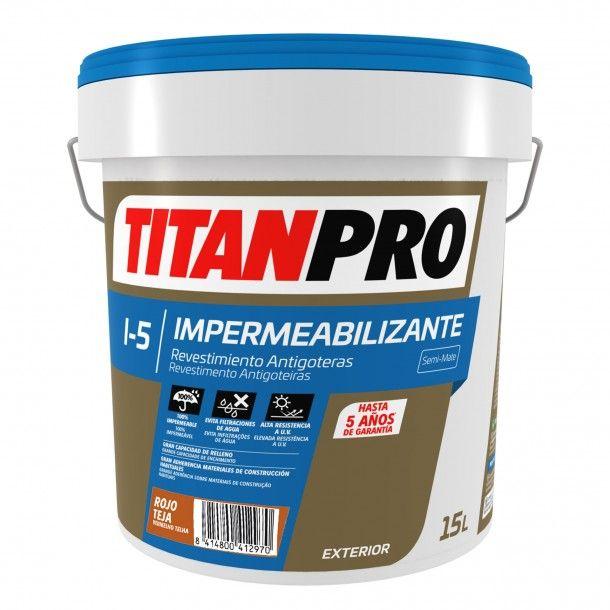 Revestimento Impermeável I5 Vermelho Telha 15L - Titan