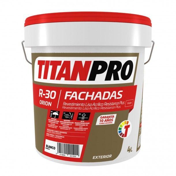 Revestimento R30 Acrílico Branco Mate 4L - Titan Pro