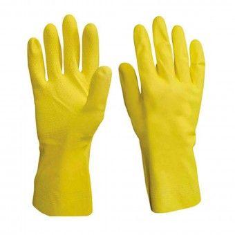 Luvas Látex Amarela - Tamanho 9