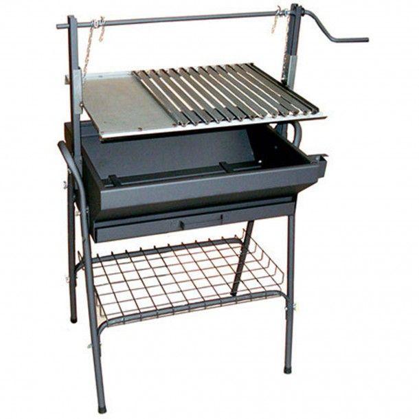 Barbecue Santana a Carvão em Inox
