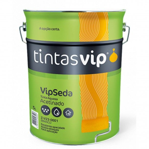 Tinta Vipseda Acetinada Branco 5L - Vip