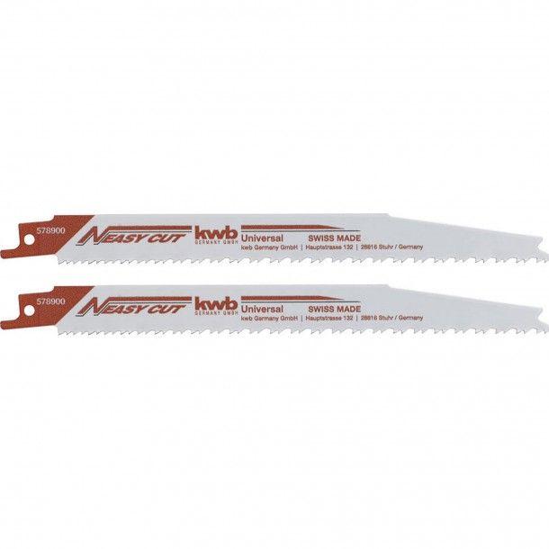 Lâmina Serra Sabre BIM para Metal - 180 mm Kwb