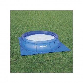 Tapete Proteção Piscina Azul 2,74x2,74 m