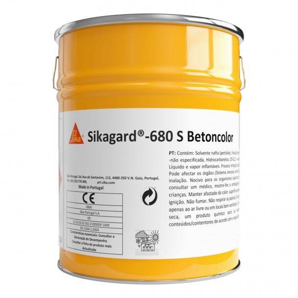 Revestimento 680S Betoncolor NCS 20L - Sikagard