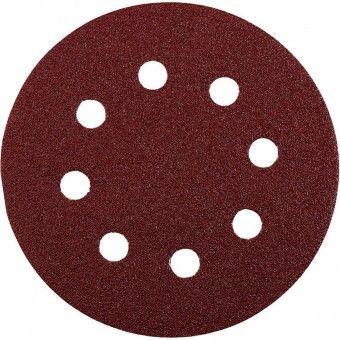 Disco Lixa Abrasivo com Velcro D125 - G120 Kwb