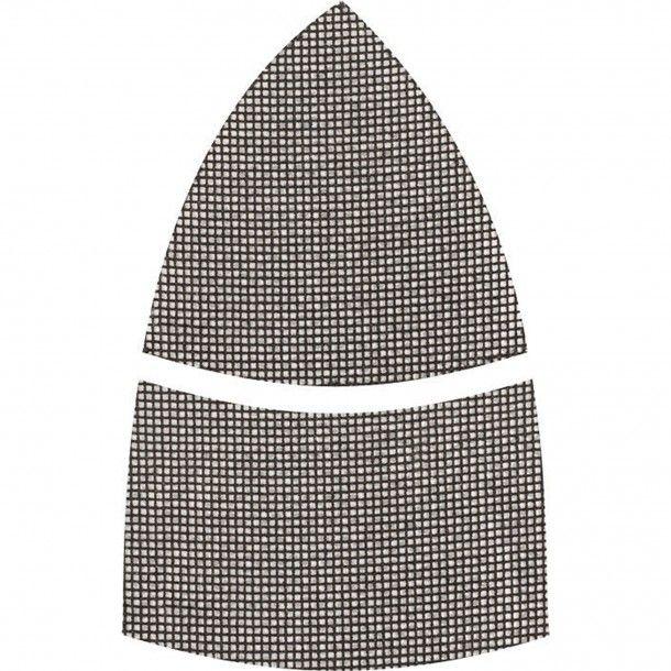 Lixa Triangular Abrasiva Rede com Velcro 100x62x93 Kwb