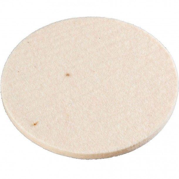 Disco Feltro para Polir com Velcro 125 mm Kwb
