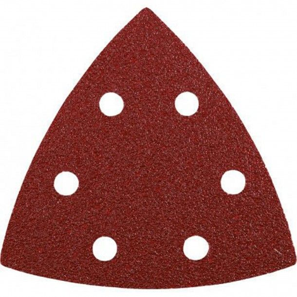 Lixa Triangular Abrasiva com Velcro 93x93 - G120 Kwb