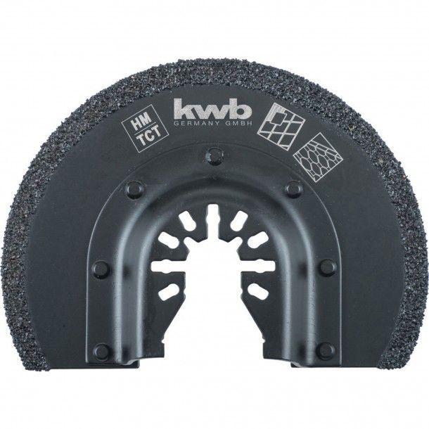 Disco Oscilante para Decapador 87x12 mm Kwb