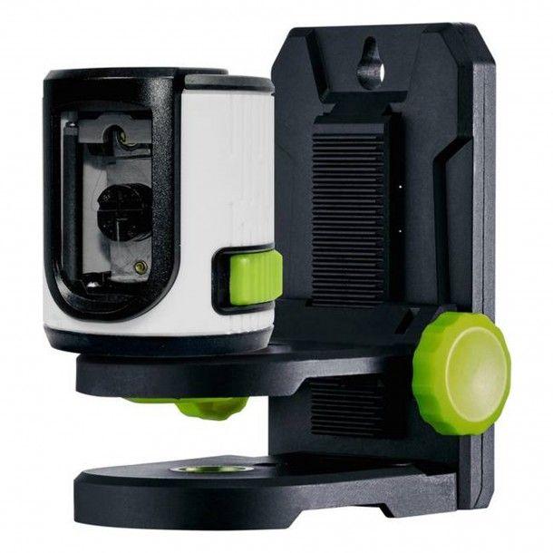 Nível Laser Linhas Cruz Verde com Suporte Magnético Laserliner