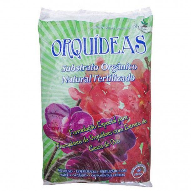 Substrato Orgânico Fertilizado para Orquídeas