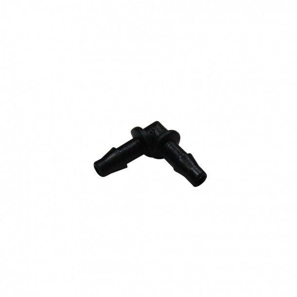 União/Joelho Para Tubo 4 mm - Pack 5