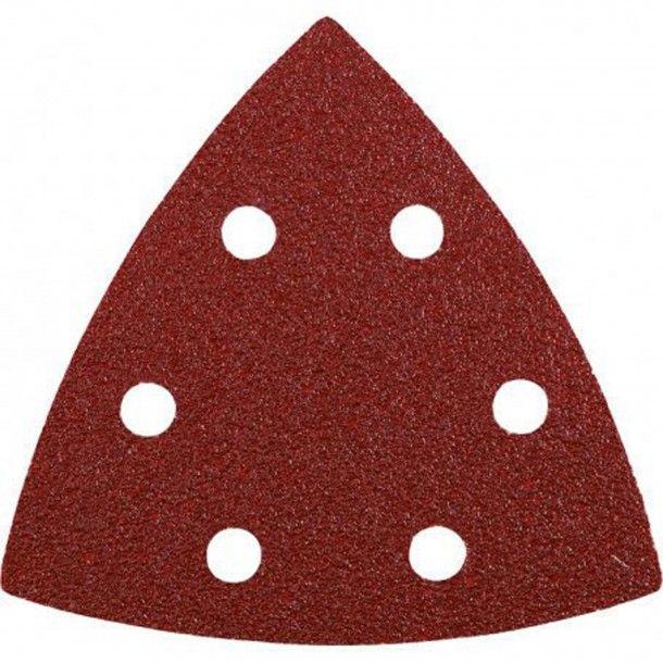 Lixa Triangular Abrasiva com Velcro 93x93 - G80 Kwb