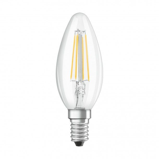 Lâmpada LED Filamento Osram Vidro Classic B40 2700K