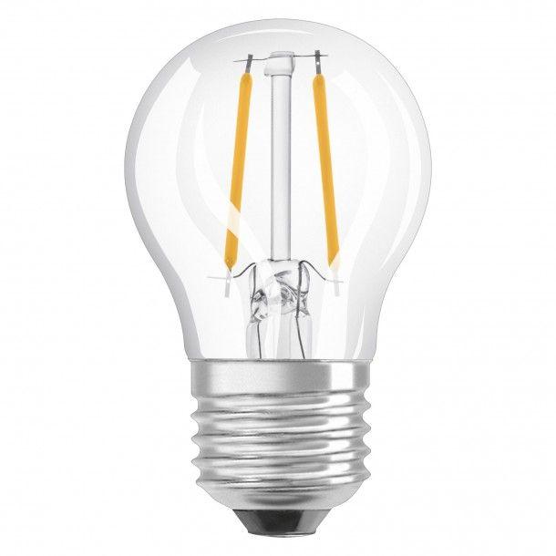 Lâmpada LED Filamento Osram Vidro Classic P40 4000K