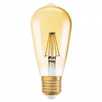 Lâmpada LED Vintage 1906 Edison Gold 5000K Osram