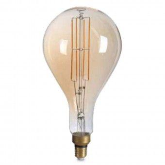 Lâmpada LED Vintage Pera Regulável E27 1800K