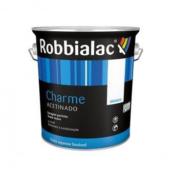 Tinta Charme Branco Jasmim - 4L Robbialac